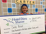 Carter Bosak | Third Party Event Application | Donation | Hotel Dieu Shaver Foundation